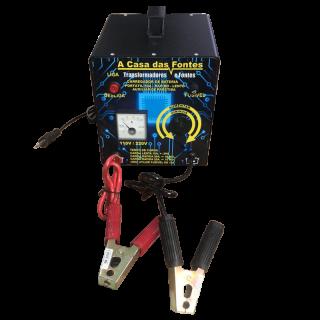 Carregador De Bateria Automotivo 12v 50 Amperes