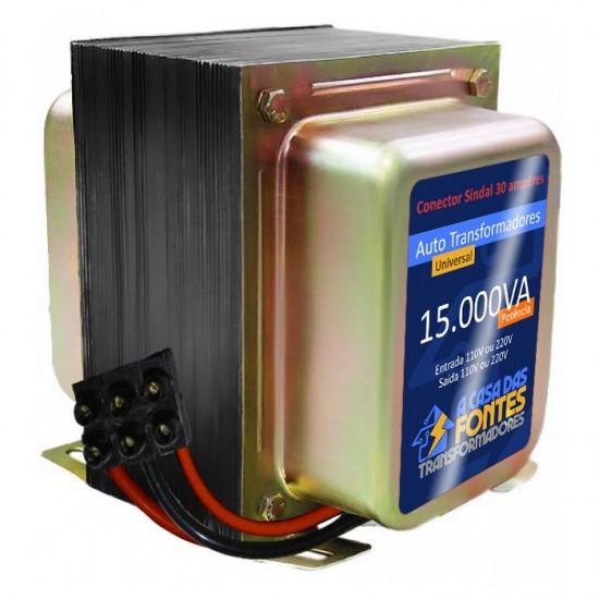 Auto Transformador 15.000 va 127v /220v Bivolt / Para ar condicionado de até 30.000 btus